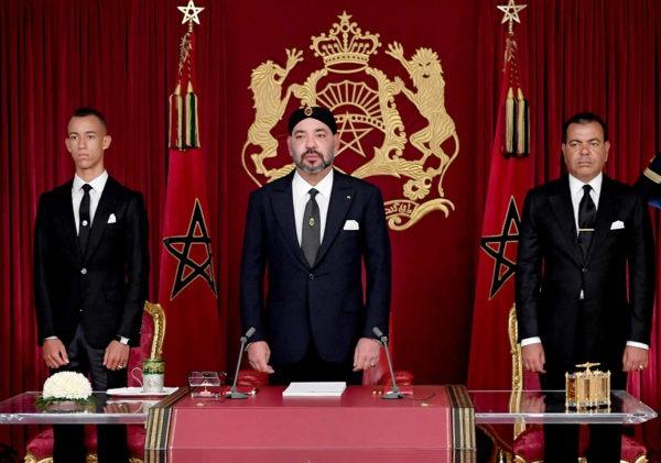 Discours de SM le Roi à la Nation à l'occasion du 65ème anniversaire de la Révolution du Roi et du Peuple