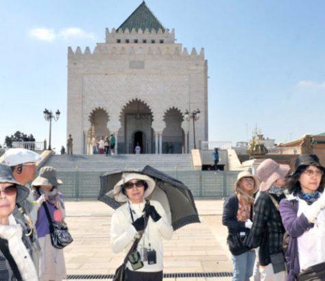 les touristes chinois