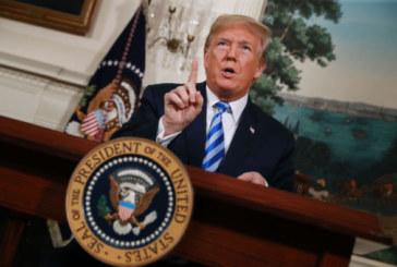 Trump: annonce la réimposition des sanctions contre l'Iran levées dans le cadre de l'accord sur le nucléaire