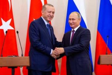 """Syrie : Accord entre Poutine et Erdogan pour la création d'une """"zone démilitarisée"""" à Idleb"""