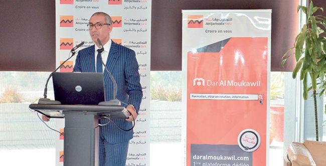"""Groupe Attijariwafa bank: Inauguration d'un nouveau centre """"Dar Al Moukawil"""" à Fès"""