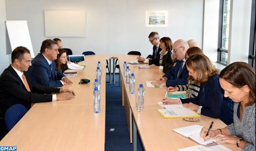 Akhannouch s'entretient à Bruxelles avec le Commissaire européen en charge de l'Agriculture et du Développement rural
