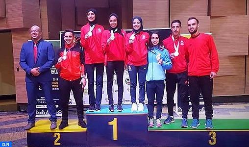 Championnats d'Afrique de karaté Kigali 2018: Le Maroc classé 3è avec sept médailles dont une en or