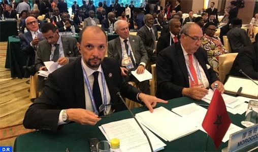 Le Maroc souhaite faire du développement socio-économique en Afrique l'un des axes majeurs de la coopération sino-africaine