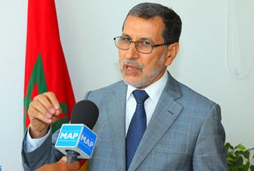 """M. El Othmani : """"Les deux langues officielles reconnues par la Constitution sont l'arabe et l'amazighe"""""""