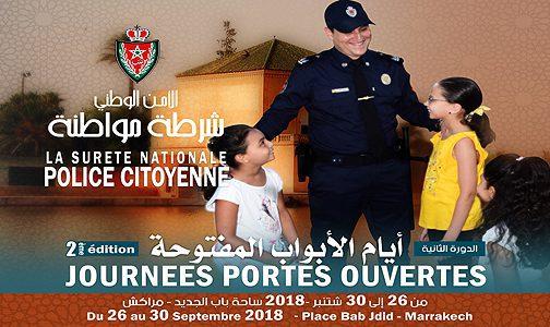 Coup d'envoi à Marrakech de la 2è édition des Journées Portes Ouvertes de la DGSN
