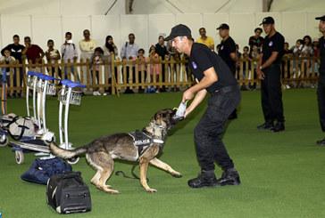 2è édition des JPO de la DGSN: le grand public à la découverte de la police cynotechnique