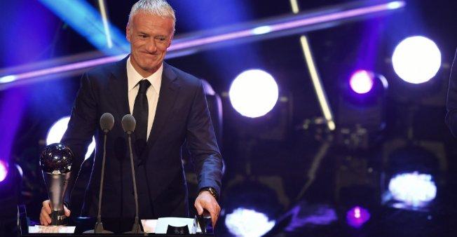 Trophées FIFA 2018 : Le Français Deschamps sacré entraîneur de l'année