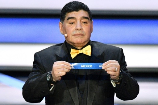 Diego Maradona nouvel entraîneur de l'équipe mexicaine Dorados