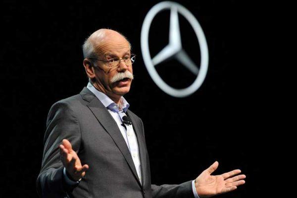 Automobile: futur changement de patron pour Mercedes