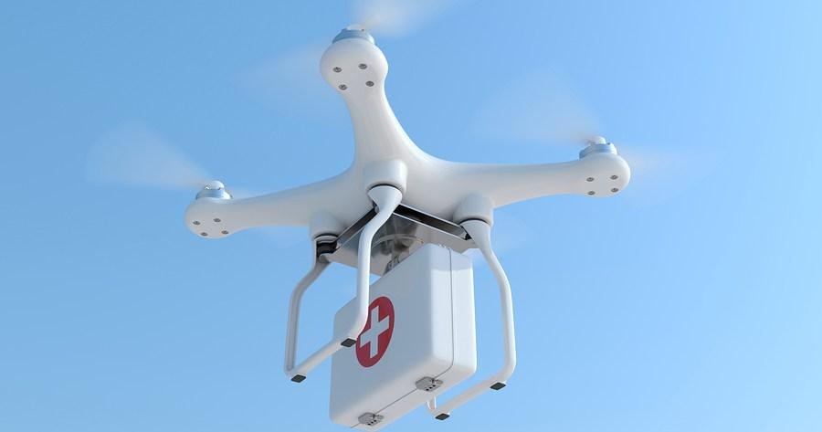 Inde: Des drones livreurs du sang et des médicaments dans les zones rurales