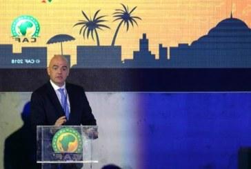 Lekjaa annonce le soutien officiel de la CAF à la réélection de Gianni Infantino à la présidence de la Fifa