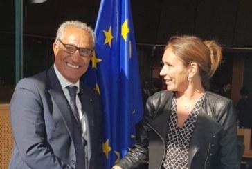 Entretien d'Abderrahim Atmoun avec Tiziana Begin sur le financement et les procédures de l'Assemblée Parlementaire de l'Union pour la Méditerranée