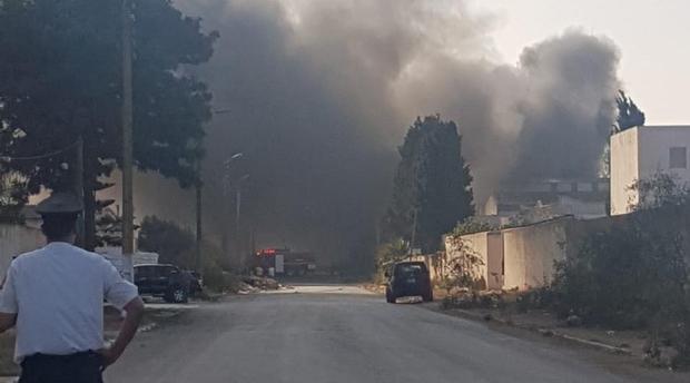 Incendie dans deux réservoirs de gaz butane à Kénitra: deux personnes grièvement blessées