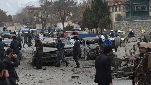 Afghanistan: 7 morts et 25 blessés dans un attentat à Kaboul