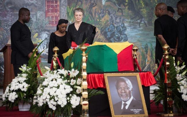 Funérailles au Ghana, pays natal de Kofi Annan l'ancien secrétaire général des nations unies
