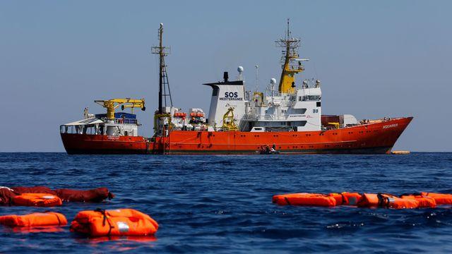L'Aquarius sauve onze personnes au large de la Libye