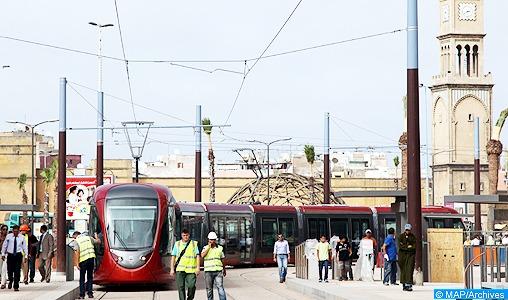 Casablanca: Une parade participative pour l'inauguration de la deuxième ligne du tramway