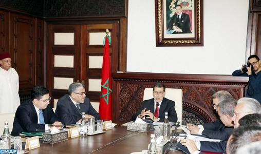 Le Conseil de gouvernement adopte un projet de loi relatif à l'accord sur les services aériens entre le Maroc et la République dominicaine