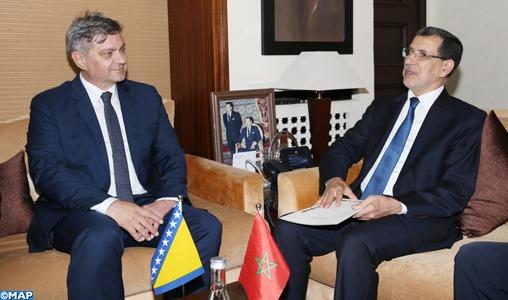 Le Maroc et la Bosnie-Herzégovine déterminés à booster la coopération bilatérale et les échanges commerciaux