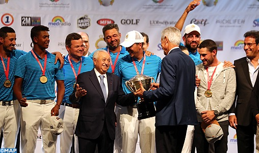 15-ème Coupe du Trône: Le Royal Golf Dar Es-Salam remporte la décima à Michlifen