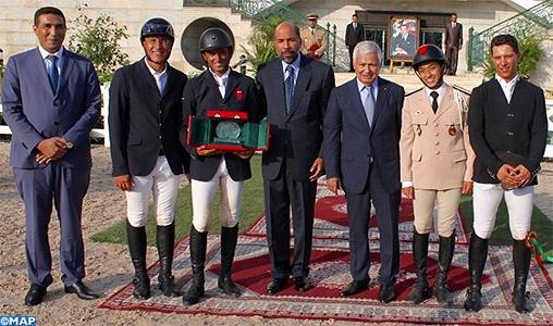 Saut d'obstacles de la Garde Royale: Le cavalier Ali Al Ahrach décroche le Prix de SAR le Prince Héritier Moulay El Hassan