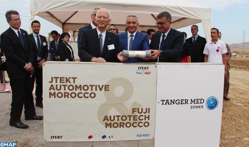 Automobile: L'équipementier japonais JTEKT pose la première pierre de son usine à Tanger