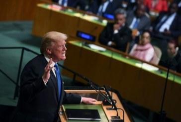 """A l'ONU, Trump appelle à isoler le régime """"corrompu"""" de Téhéran"""