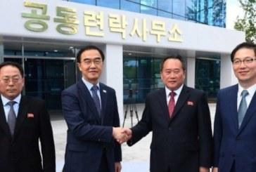 Les deux Corées ouvrent un bureau de liaison dans le nord
