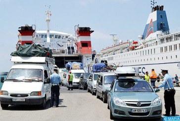 """Opération Marhaba: Retour du trafic à la normale après une semaine """"exceptionnelle"""" au Port Tanger Med"""