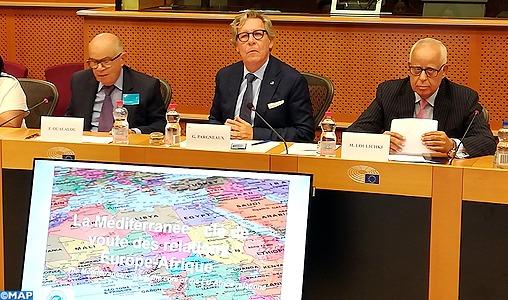 Bruxelles: le rôle du Maroc pour rénover le partenariat euro-méditerranéen au service du rapprochement entre l'Europe et l'Afrique