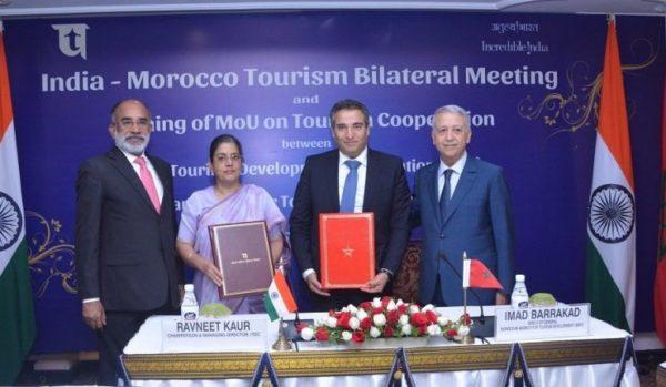 Tourisme: le Maroc et l'Inde examinent à New Delhi le renforcement de leur coopération