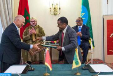 Addis Abeba: Entretiens maroco-éthiopiens pour accélérer la mise en oeuvre des accords signés en marge de la visite Royale en novembre 2016