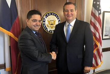 Nasser Bourita s'entretient à Washington avec d'éminents membres du Sénat US