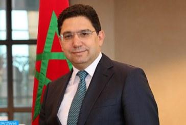 """Nasser Bourita souligne à Washington la """"densité"""" et la """"fécondité"""" du partenariat Maroc-Etats Unis"""