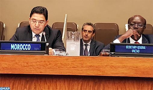 Nasser Bourita met en relief à New York les préceptes issus de l'Agenda Africain pour la Migration