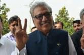 Pakistan : le nouveau président a prêté serment