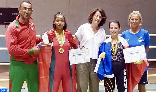Tournoi international de Savate de Dakar : belle victoire de la Marocaine Oumaima Belouarath