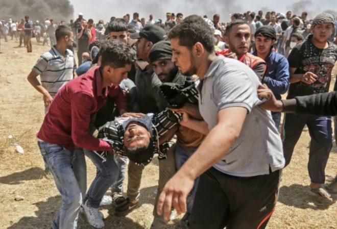 Cinq palestiniens blessés par l'armée israélienne à Ramallah