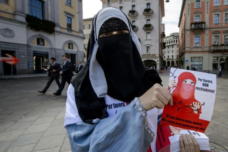 Suisse : référendum local sur l'interdiction de la burqa