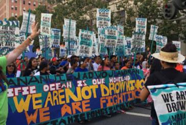 Energies renouvelables: Des milliers de personnes manifestent aux États-Unis pour une transition rapide