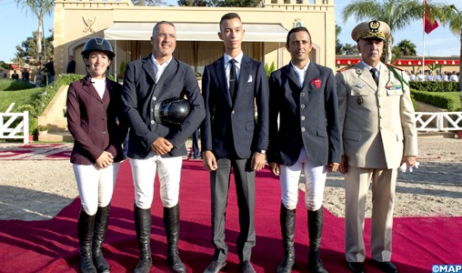 Témara: SAR le Prince Héritier Moulay El Hassan préside la cérémonie de remise du Grand Prix SM le Roi Mohammed VI du Concours de saut d'obstacles