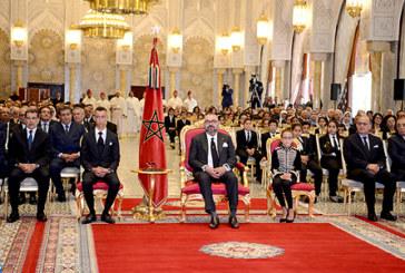 SM le Roi préside la cérémonie de présentation du bilan d'étape et du programme exécutif dans le domaine du soutien à la scolarité