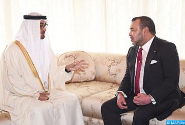 Les entretiens de SM le Roi et SA Cheikh Mohamed Ben Zayed traduisent de manière claire la volonté des deux Etats de développer leurs relations bilatérales et de les ouvrir sur des horizons plus larges