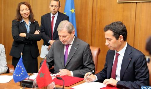 Le Maroc et l'UE s'engagent en faveur du développement social et de la compétitivité du secteur privé