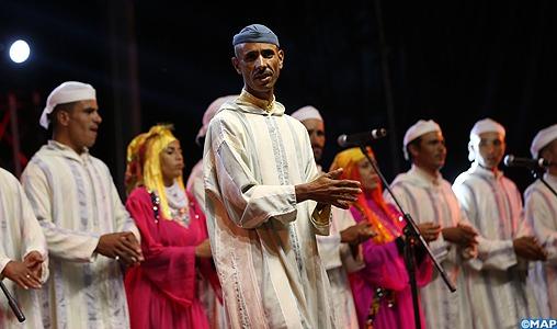 Le festival national de Marmoucha célèbre la chanson amazighe et populaire