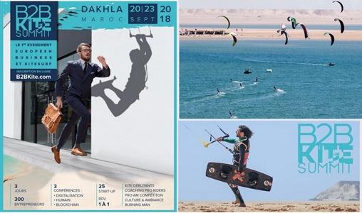 Dakhla abrite le 1er Sommet européen Business & Kitesurf du 19 au 23 septembre