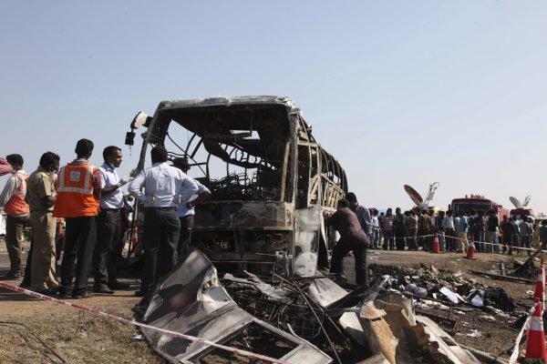 Inde: 61 morts dans l'accident de bus à Telangana