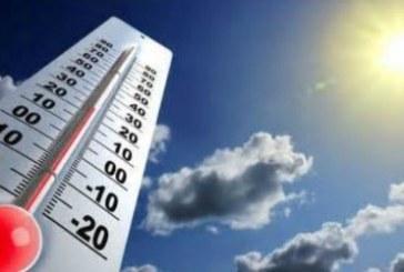 Températures minimales et maximales prévues pour la journée du mardi 19 février