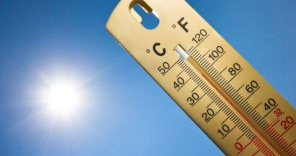 Températures minimales et maximales prévues pour la journée du jeudi 13 septembre 2018